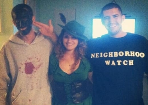 Trayvon Martin and George Zimmerman Costumes