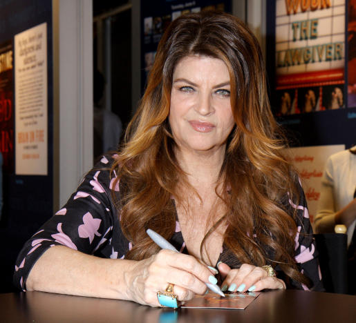 Kirstie Alley at a Signing