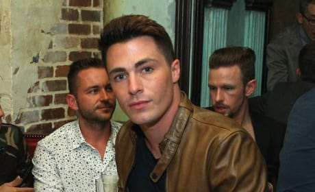 Colton Haynes Chills Out