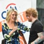Megyn Kelly and Ed Sheeran
