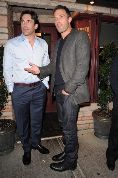 Jon Hamm, Ben Affleck Photo