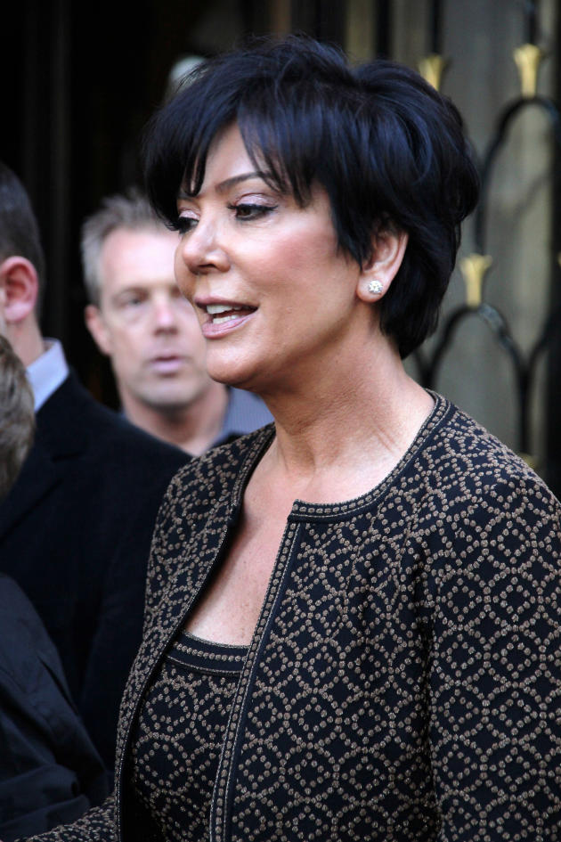 Kris Jenner in Paris