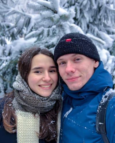 Steven y Olga en Rusia, con amor