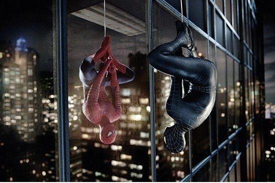 Two Spider Men