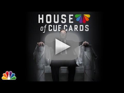 Jimmy Fallon Spoofs House of Cards (Part 1)