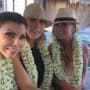 Vicki Gunvalson, Tamra Judge and Heather Dubrow in Tahiti
