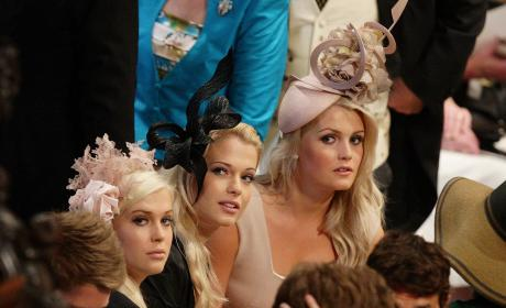 Prince William's Maternal Cousins At The 2011 Royal Wedding