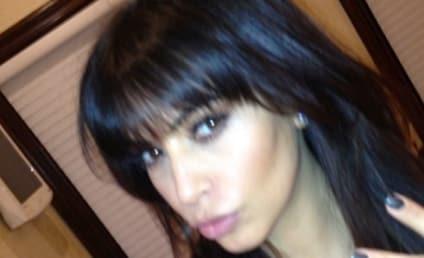 Kim Kardashian Bangs: Fan? Not a Fan?