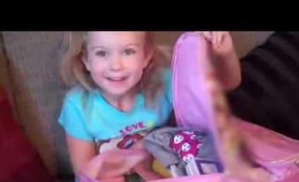 FAA Lifts Ban on Electronics, Cutest Girl Ever Cries Tears of Joy