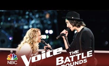 Taylor John Williams vs. Amanda Lee Peers (The Voice Battle Round)