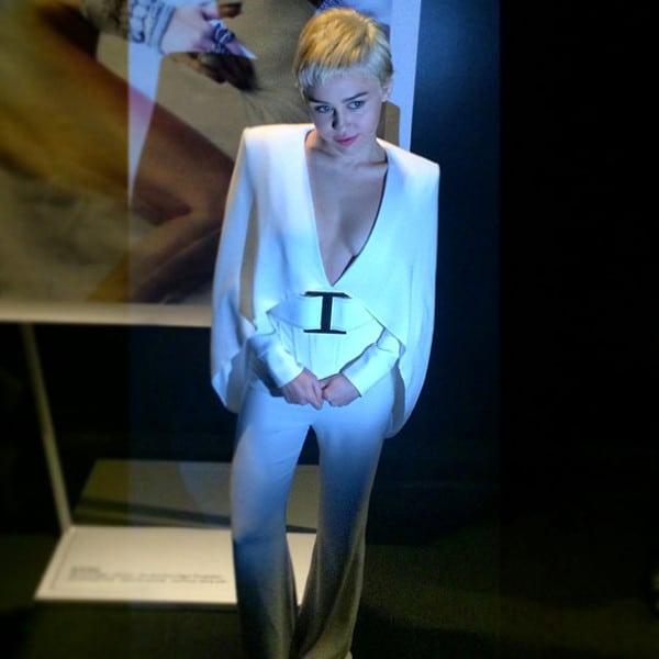 Miley as Elvis