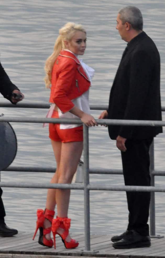 Lindsay Lohan Doing Modeling