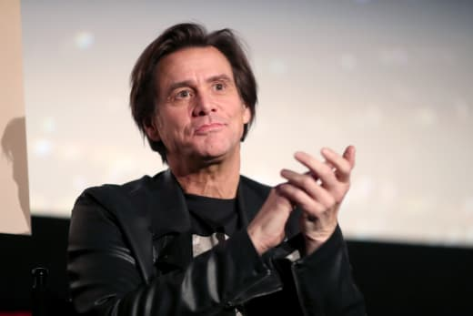 Jim Carrey Applauds