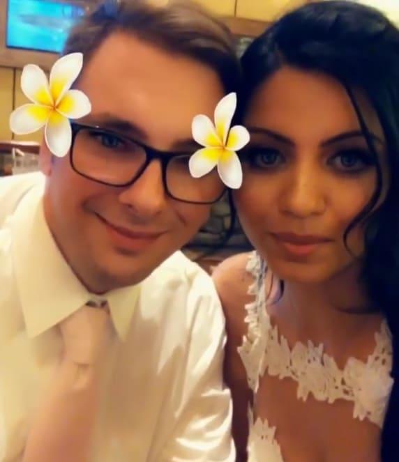 Colt and larissa wedding day love confession