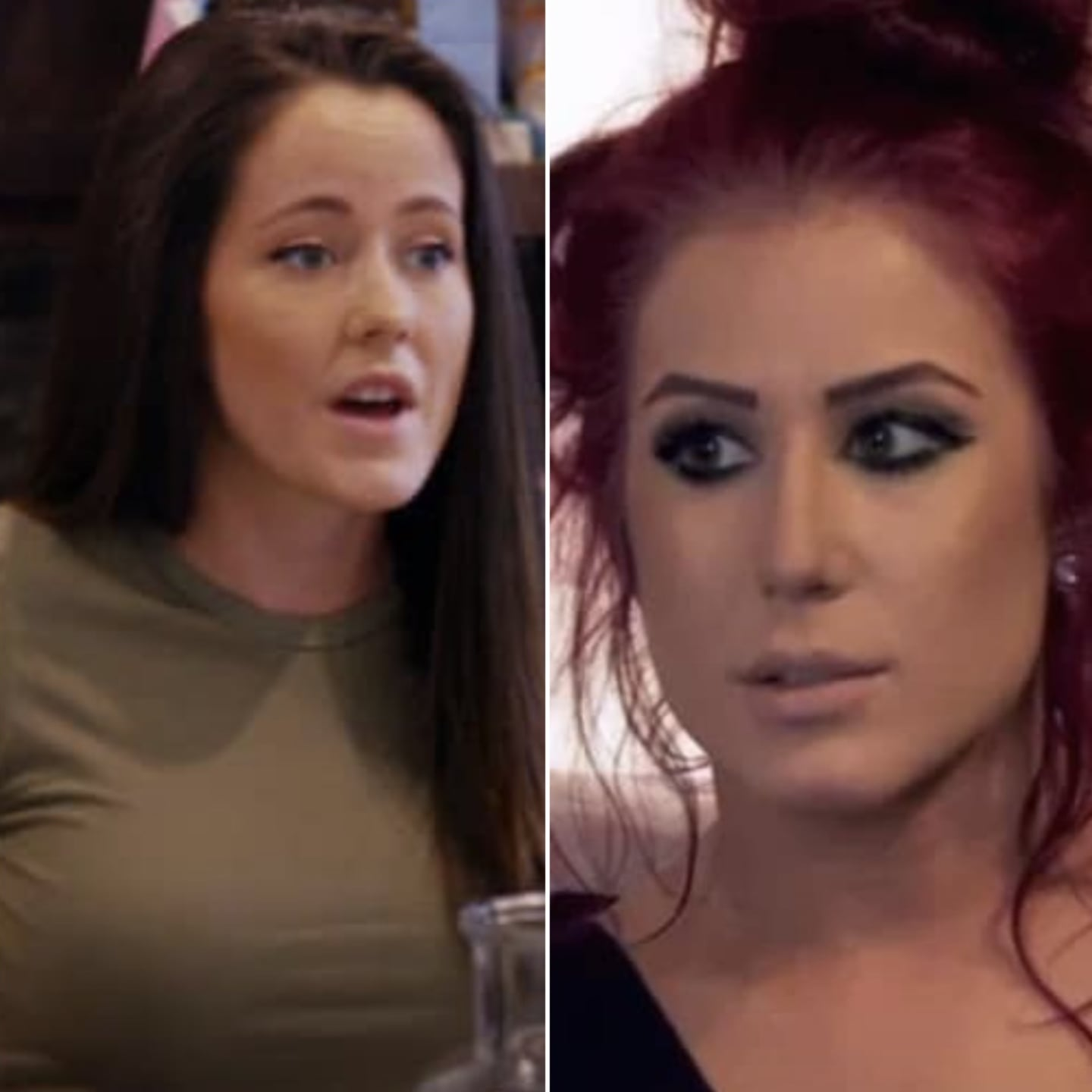 jenelle evans to chelsea houska: nice hair extensions, you