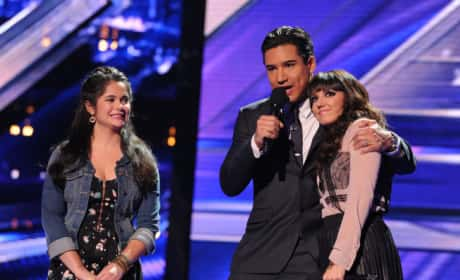 X Factor Elimination Pic