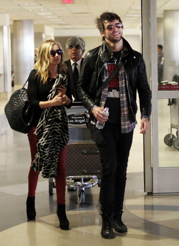 Martin Johnson and Ashley Tisdale