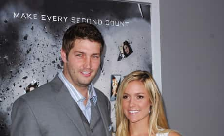 Kristin Cavallari and Jay Cutler Photograph
