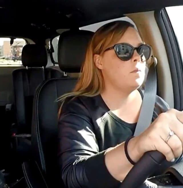 Catelynn at the wheel