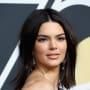 Kendall Jenner, Golden Globes Acne