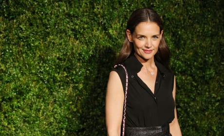 Katie Holmes: 1th Annual Chanel Tribeca Film Festival Artists Dinner