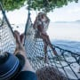 Brooks Laich and Julianne Hough in Hammocks