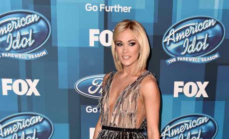 Carrie Underwood at American Idol finale