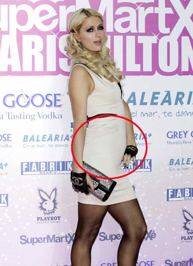 Paris Hilton Baby Bump?