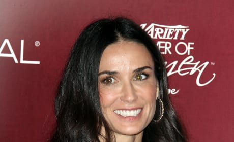 Demi Moore on a Red Carpet