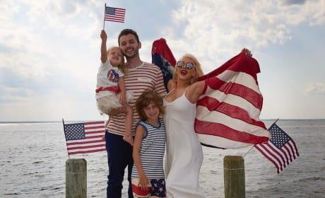 Christina Aguilera Celebrates