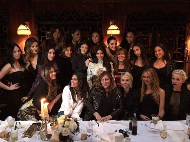 Kim Kardashian Bachelorette Party Pic