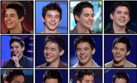The Faces of David Archuleta