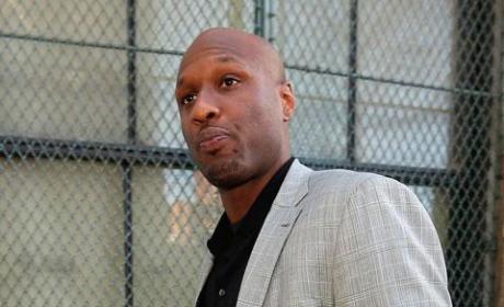 Lamar Odom Heckled in Jail