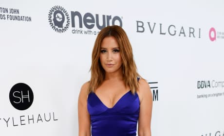 Ashley Tisdale at Oscars Party