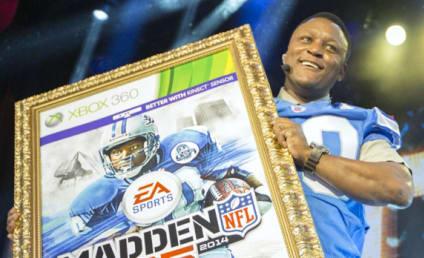 Madden 25 Cover Winner: Barry Sanders!