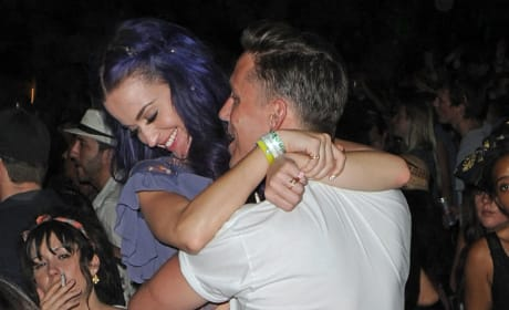 Katy Perry and Robert Ackroyd