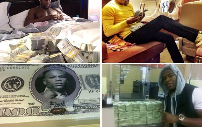 Floyd mayweather the money man on instagram money never sleeps