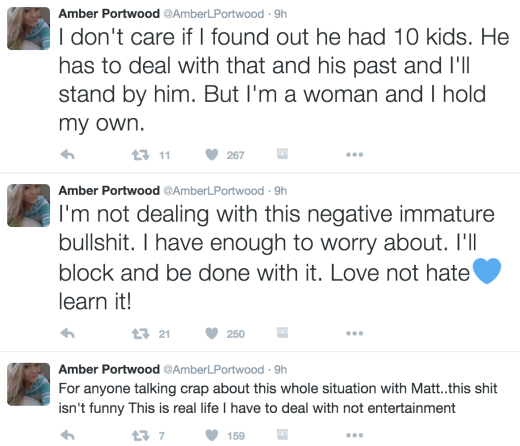 Amber Portwood Defends Her Relationship On Twitter