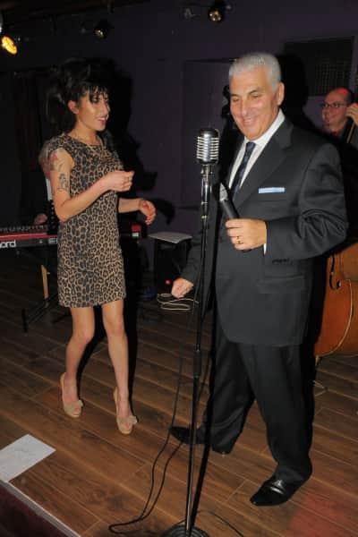 Mitch Winehouse and Amy Winehouse