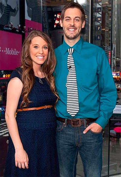 Jill Duggar and Derick Dillard in NYC Photo