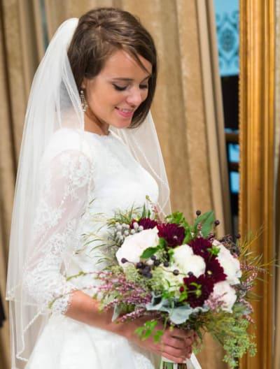 Jinger in Her Wedding Dress