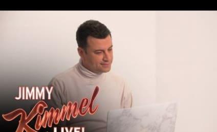 Jimmy Kimmel Writes Letter to Self, Mocks Kim Kardashian