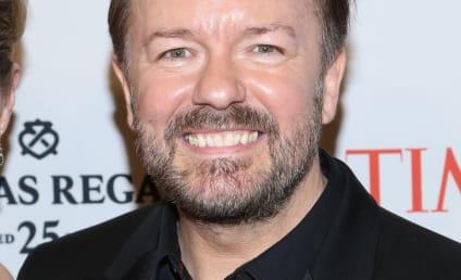 "Ricky Gervais Slams ""Prayers"" for Oklahoma Tornado Victims, Urges People to Send Money"