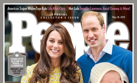 Princess Charlotte People Magazine Cover