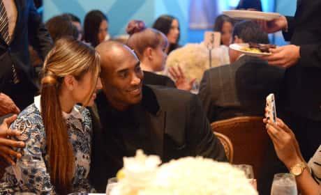 Kobe Bryant and Wife
