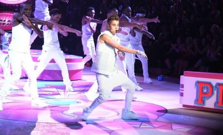 Bieber on Stage