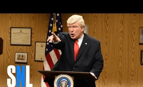 Alec Baldwin Returns to Saturday Night Live; Destroys Donald Trump