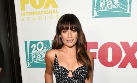 Lea Michele at Comic-Con