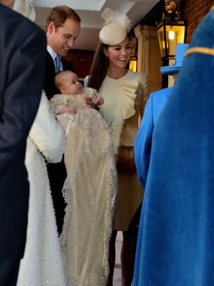Royal Family at Christening