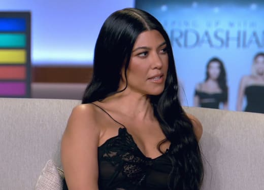 Kourtney Kardashian Gets Personal on the Finale Special